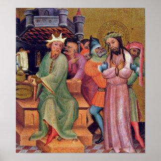 Bertram principal - Cristo antes de Pilate Poster