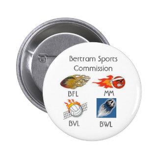 Bertram Sports Commission Pin