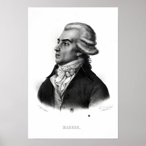 Bertrand Barere de Vieuzac Poster