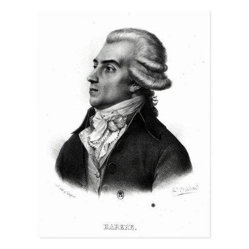 Bertrand Barere de Vieuzac Tarjeta Postal