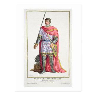 """Bertrand du Guesclin (1320-80) de """"DES E de Postal"""