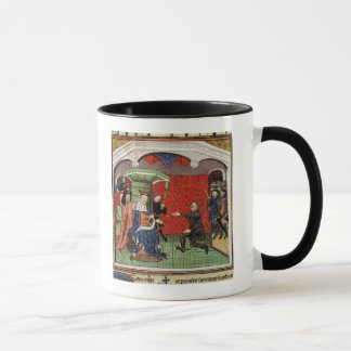 Bertrand du Guesclin  before Charles V Mug