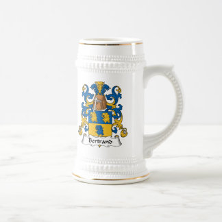 Bertrand Family Crest Beer Stein