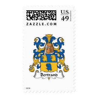 Bertrand Family Crest Postage