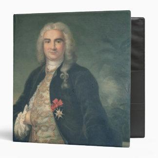 "Bertrand-Francois Mahe de la Bourdonnais Carpeta 1 1/2"""