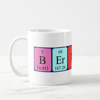 Bertrand periodic table name mug