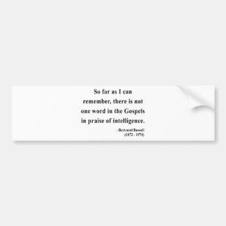 Bertrand Russell Quote 2a Bumper Sticker