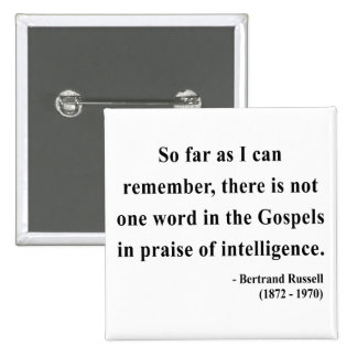Bertrand Russell Quote 2a Pinback Button