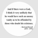 Bertrand Russell Quote 3a Stickers
