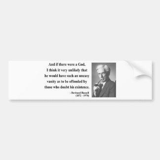 Bertrand Russell Quote 3b Bumper Sticker