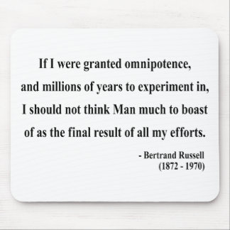 Bertrand Russell Quote 4a Mouse Pad