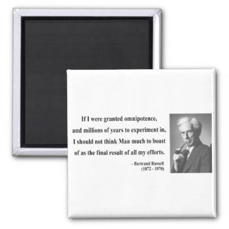 Bertrand Russell Quote 4b Magnet