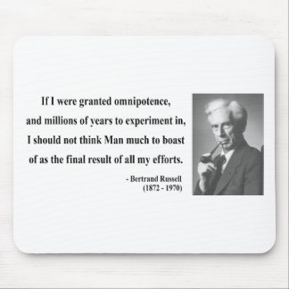 Bertrand Russell Quote 4b Mouse Pad