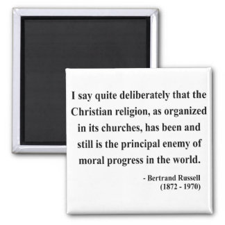 Bertrand Russell Quote 5a Magnets