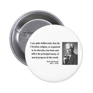 Bertrand Russell Quote 5b Button