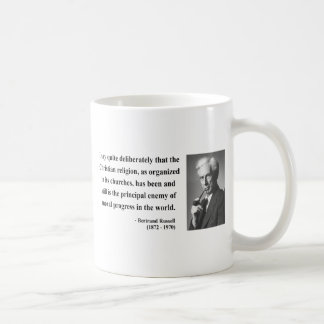 Bertrand Russell Quote 5b Coffee Mug