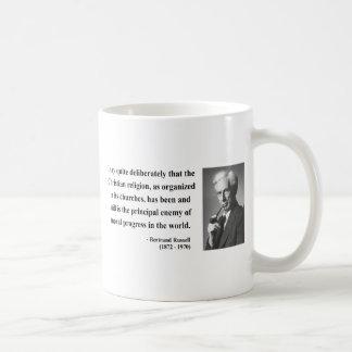 Bertrand Russell Quote 5b Classic White Coffee Mug