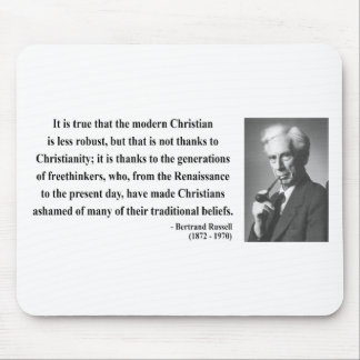 Bertrand Russell Quote 6b Mouse Pad