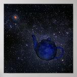 Bertrand Russell's Famous Celestial Teapot Poster