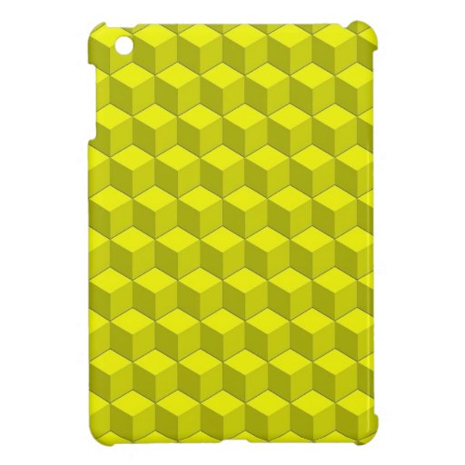 Berts Yellow Cubed Cover For The iPad Mini