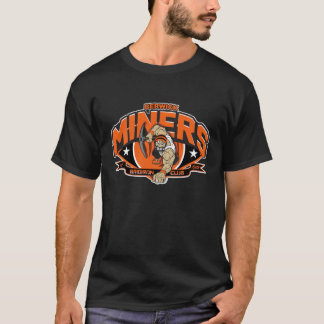 Berwick Miners logo tshirt