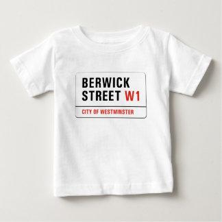 Berwick Street, London Street Sign Baby T-Shirt