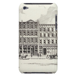 Bery West side Bush and Pine iPod Touch Case