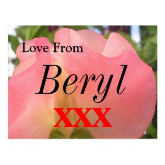 Beryl Postcard