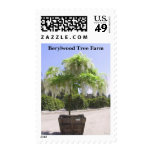 Berylwood Tree Farm Postage Stamp