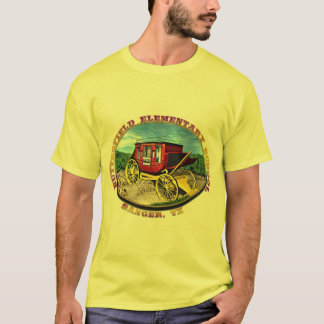 BES Overland Stage Coach Logo T-Shirt