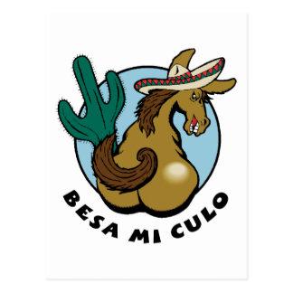Besa Mi Culo Post Card