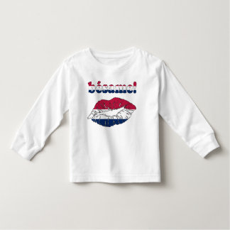 Bésame! in American Flag Colors Toddler T-shirt