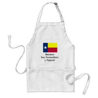 Besame Soy Venezolano y Tejano! Adult Apron
