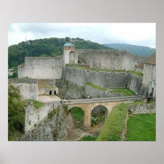Besançon ramparts, citadel posters