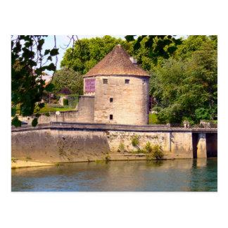 Besançon Tour de la Pelote Postcard