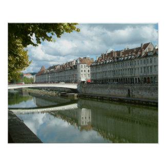 Besançon waterfront posters