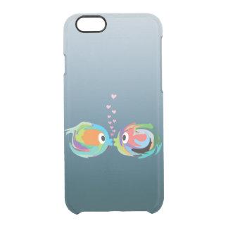 Besando el iPhone 6/6S de los pescados claramente Funda Clearly™ Deflector Para iPhone 6 De Uncommon