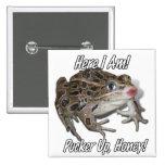 ¡Besando la rana - fruncido para arriba, miel! Pins