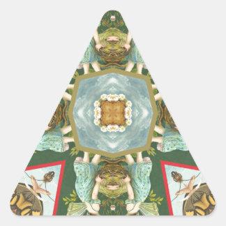 Besar a hadas colcomanias trianguladas personalizadas