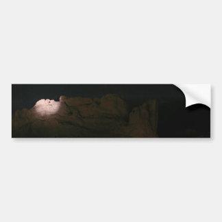 Besar camellos en la noche pegatina para auto