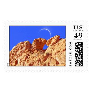 Besar camellos, jardín de dioses timbres postales