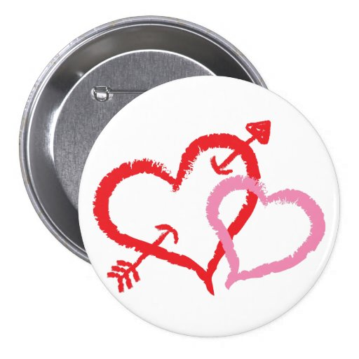 Besar corazones pins