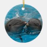 Besar delfínes adorno para reyes