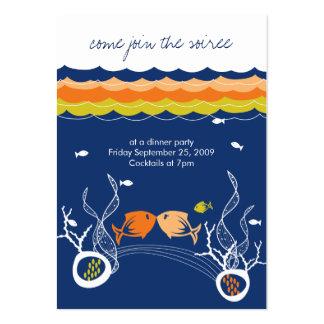 Besar el boda lindo caprichoso de la playa de los tarjetas de visita grandes