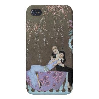 Besar el caso del iPhone 4/4S de Deco de los pares iPhone 4 Protector