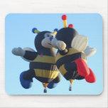 Besar el cojín de ratón de las abejas tapetes de raton