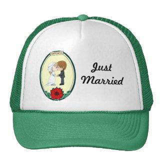 Besar el gorra de los pares