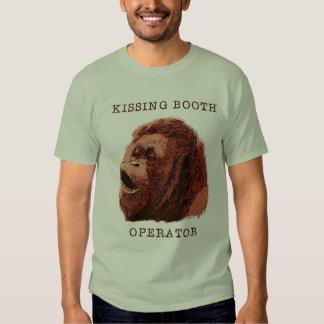 Besar el orangután de la cabina playeras