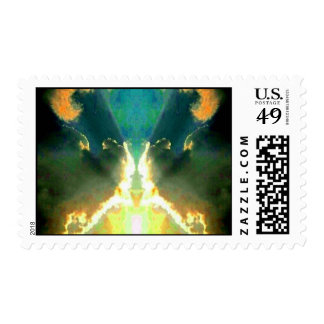 Besar la fotografía del arte abstracto de las sello