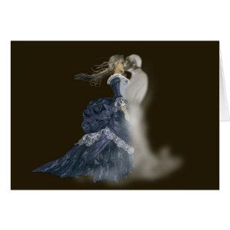 besar la tarjeta de felicitación del fantasma